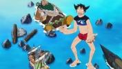 Saga dell'ambizione di Z - Rufy contro Shuzo!