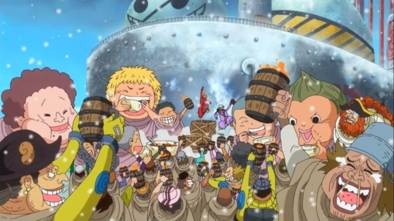 Episodio 622 – Incontro emozionante! Momonosuke e Kin'emon