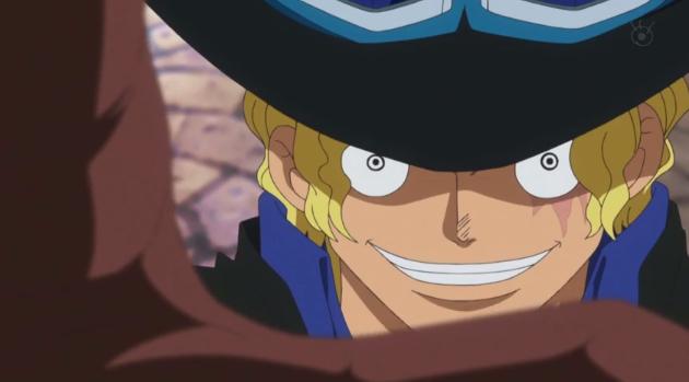 Episodio 687 – Un grande scontro! Il capo di stato maggiore Sabo contro l'Ammiraglio Fujitora