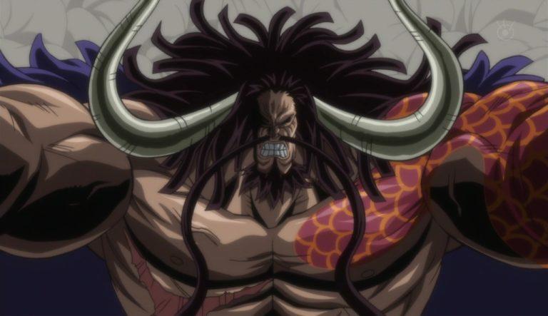 Episodio 739 – La creatura più forte – Kaido delle bestie