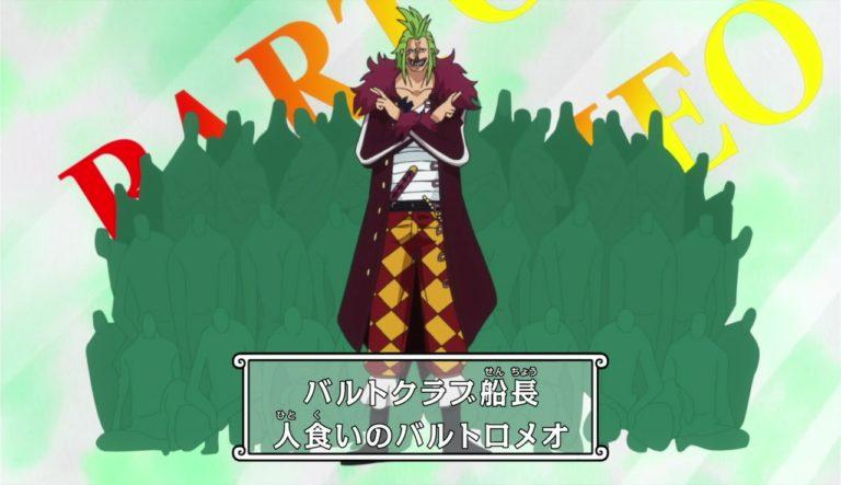 Episodio 744 – Il feroce attacco di Fujitora – Il relitto fatale che copre il cielo!