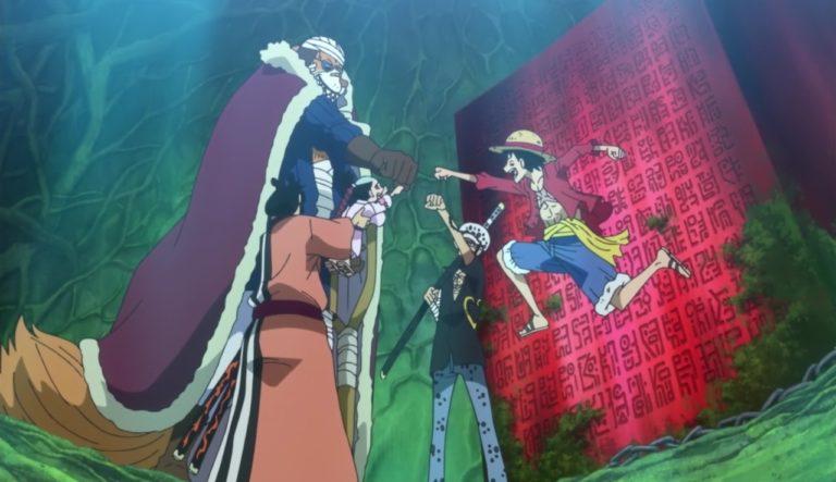 Episodio 771 – Un voto fra due uomini – Rufy e Kozuki Momonosuke