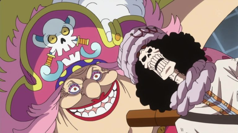 Episodio 818 – L'anima imperterrita – Brook contro Big Mom