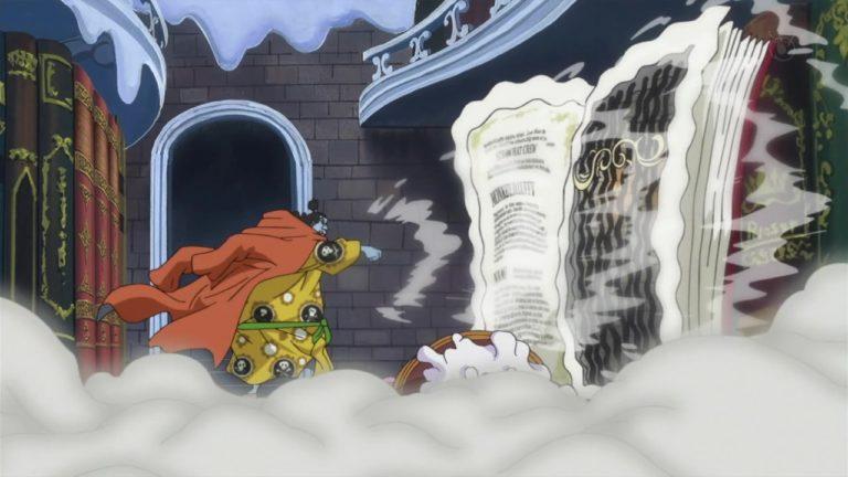 Episodio 819 – Il desiderio di Sora – Sanji, l'errore del Germa
