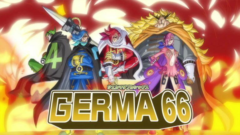 Episodio 839 – Esercito malvagio – Trasformazione! Germa 66