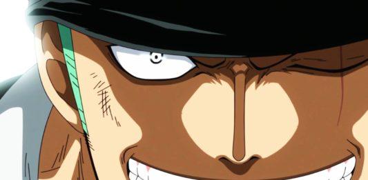 occhio sinistro di Zoro one piece