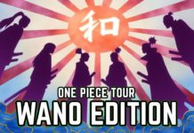 one piece tour - wano edition