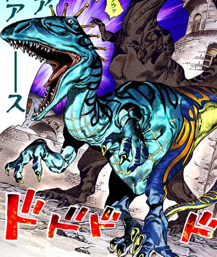 """Scary Monsters"" dal manga Steel Ball Run"