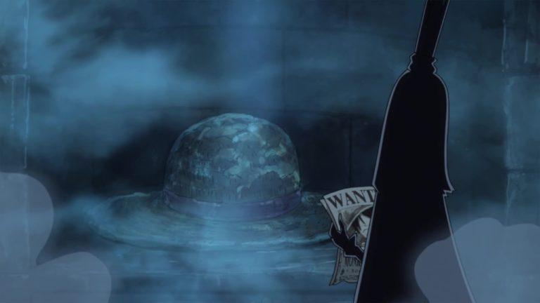 Episodio 885 – L'oscurità della terra sacra – Il misterioso cappello di paglia gigante