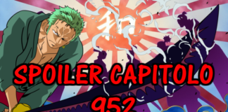 one piece spoiler capitolo 952