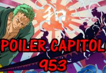 one piece spoiler capitolo 953