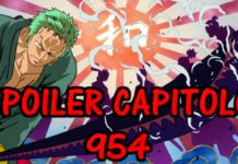 one piece spoiler capitolo 954