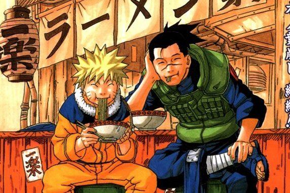 Kishimoto Naruto manga culinario