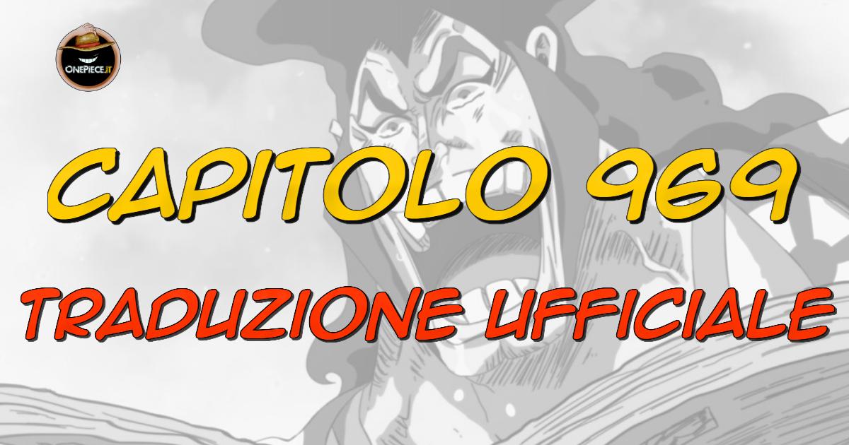 one piece capitolo 969 in italiano