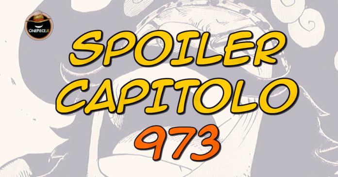 one piece spoiler capitolo 973