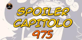 one piece spoiler capitolo 975