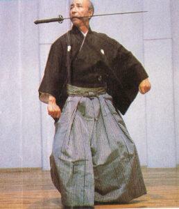 Sensei di iaidō