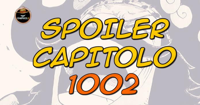 one piece spoiler capitolo 1002