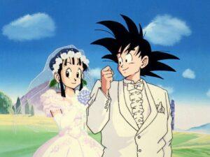 matrimonio cambiato goku
