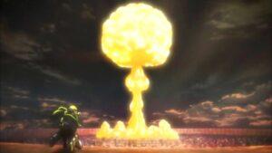 titano colossale esplosione
