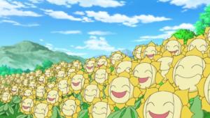 sunflora pokemon di naruto