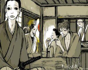 manga di samurai
