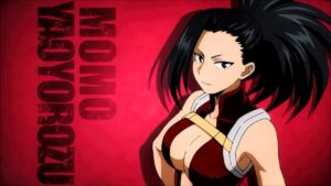 momo yaoyorozu my hero academia
