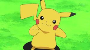 pikachu mascotte iconiche anime